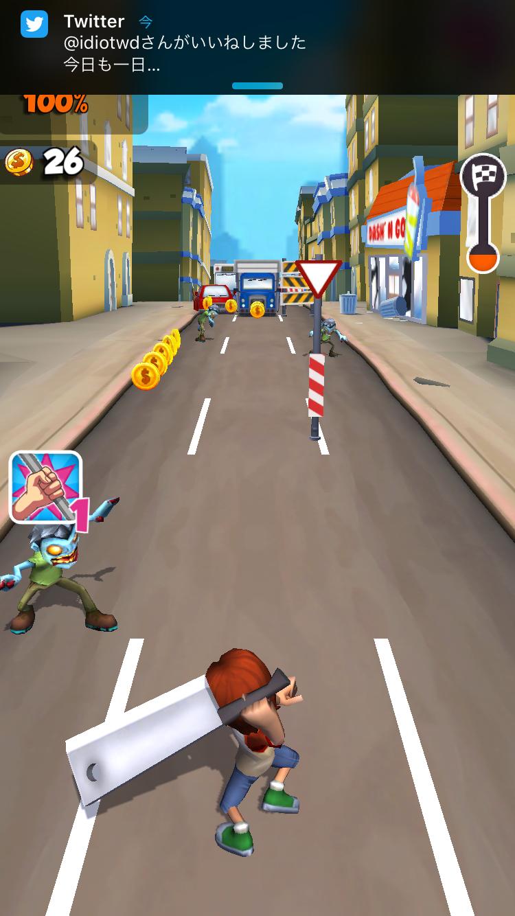 androidアプリ Undead City Run攻略スクリーンショット3
