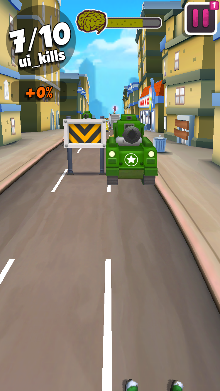 androidアプリ Undead City Run攻略スクリーンショット5