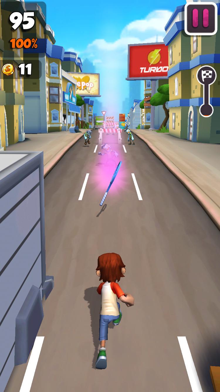 androidアプリ Undead City Run攻略スクリーンショット6