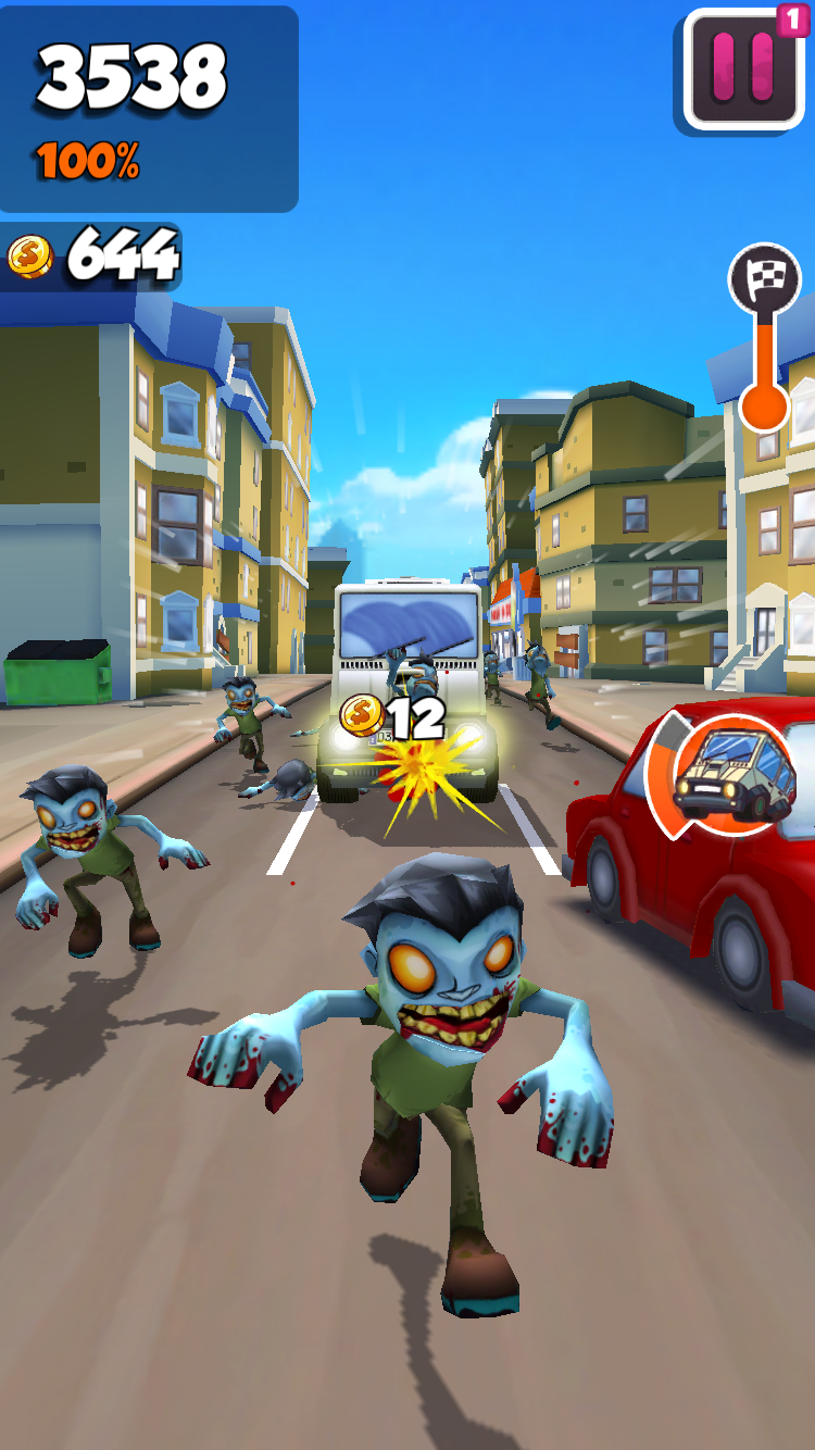 Undead City Run androidアプリスクリーンショット3