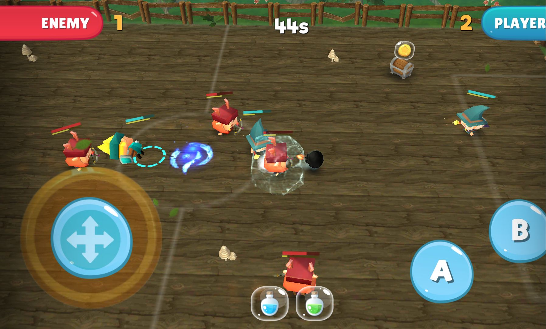 androidアプリ WIF Soccer Battles攻略スクリーンショット3
