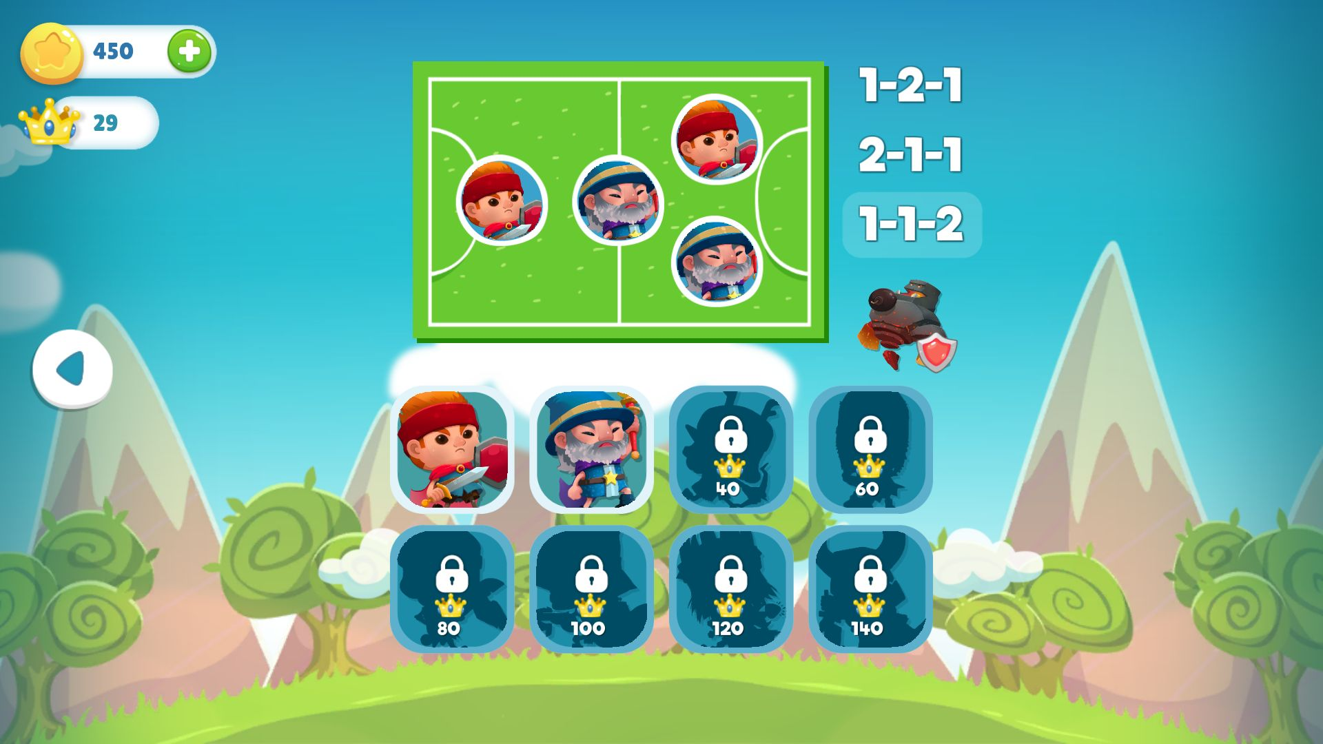 WIF Soccer Battles androidアプリスクリーンショット3