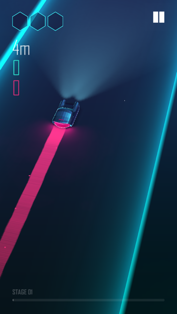 androidアプリ ビートレーサー攻略スクリーンショット3