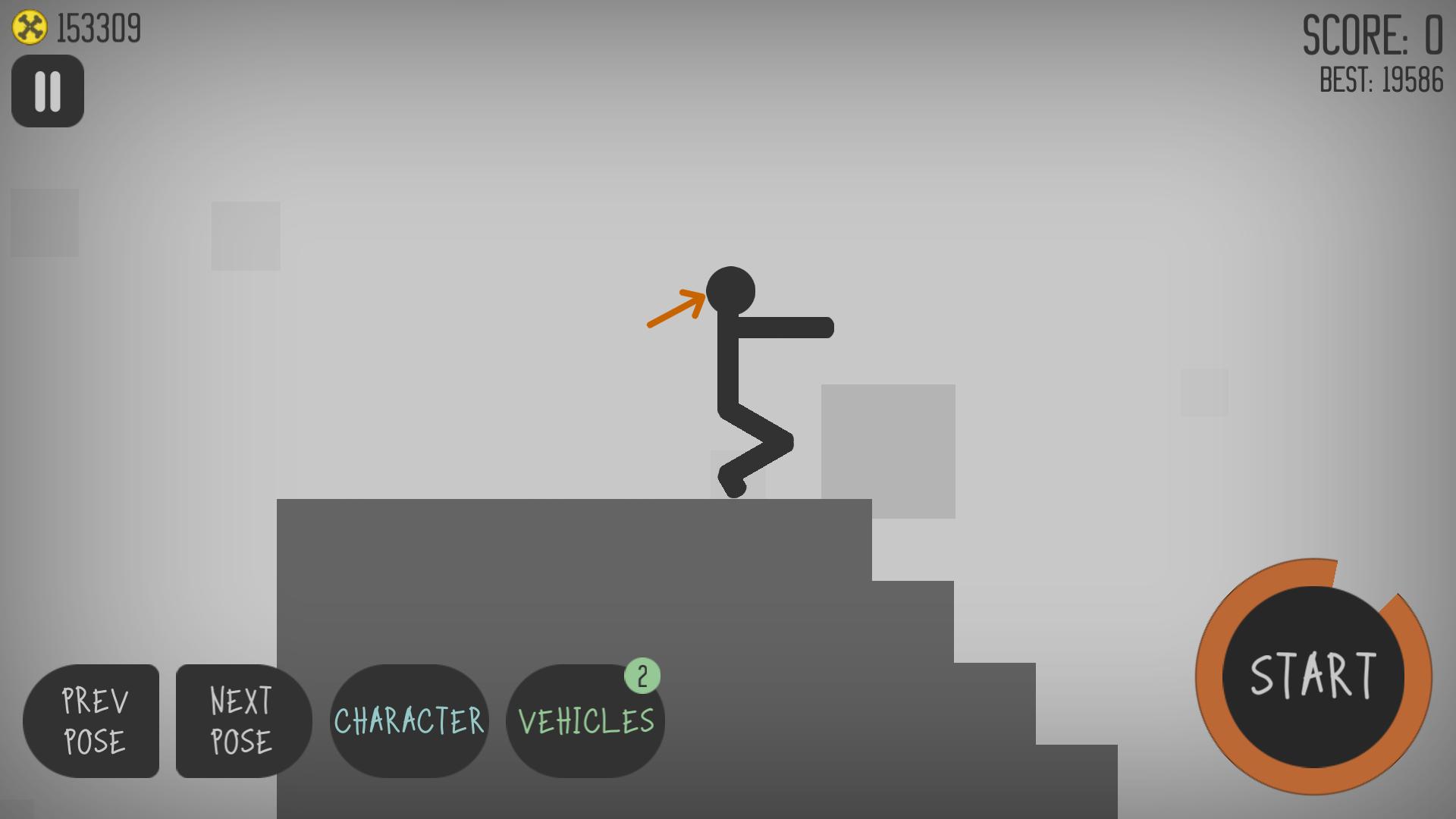 androidアプリ Stickman Dismounting攻略スクリーンショット3