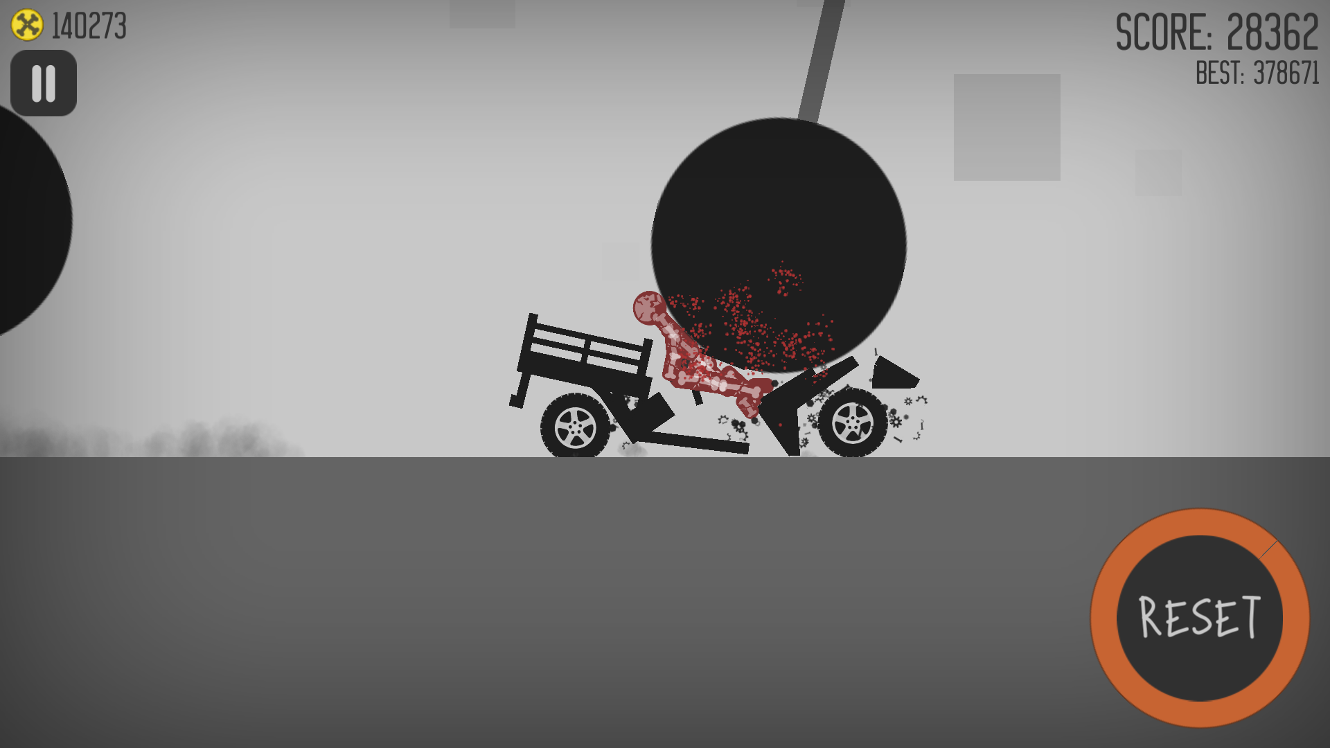 Stickman Dismounting androidアプリスクリーンショット1