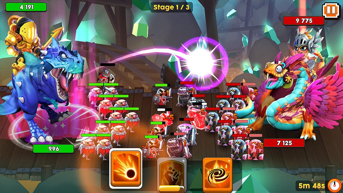 モンスター&コマンダー(Monster & Commander) androidアプリスクリーンショット1