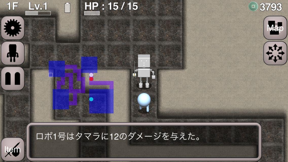 ロボローグ(Roborogue) androidアプリスクリーンショット1