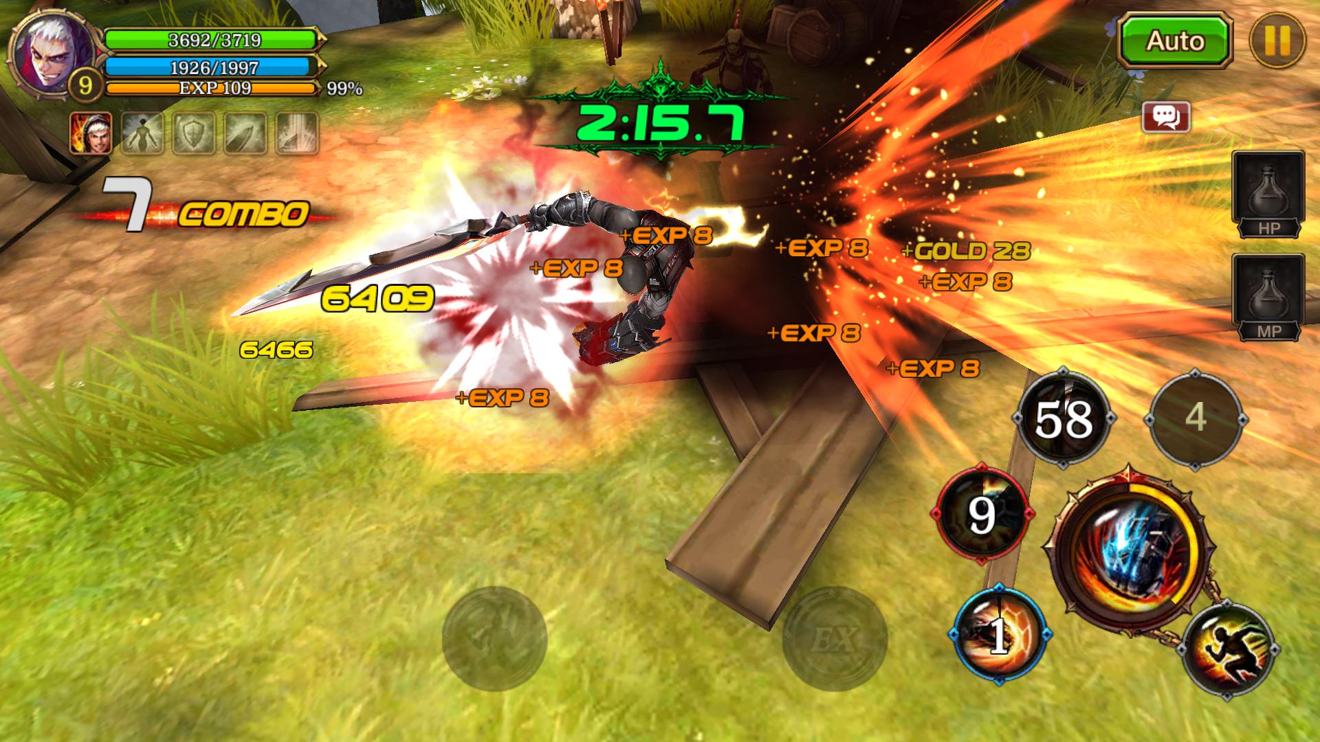 クリティカ ~天上の騎士団~ androidアプリスクリーンショット1