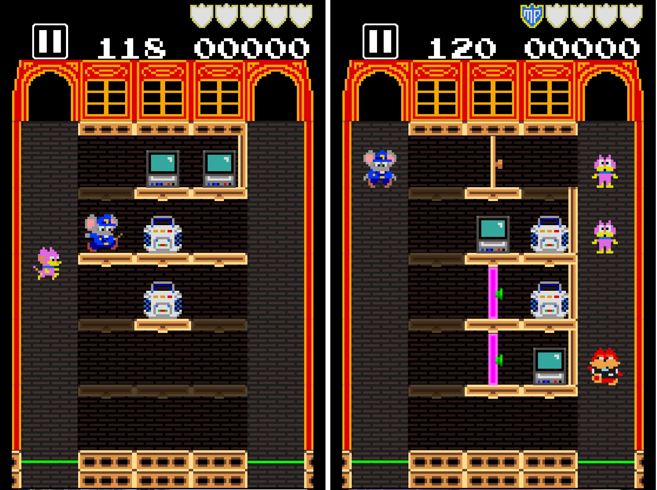 タッチ・ザ・マッピー 復活のニャームコ団 androidアプリスクリーンショット3