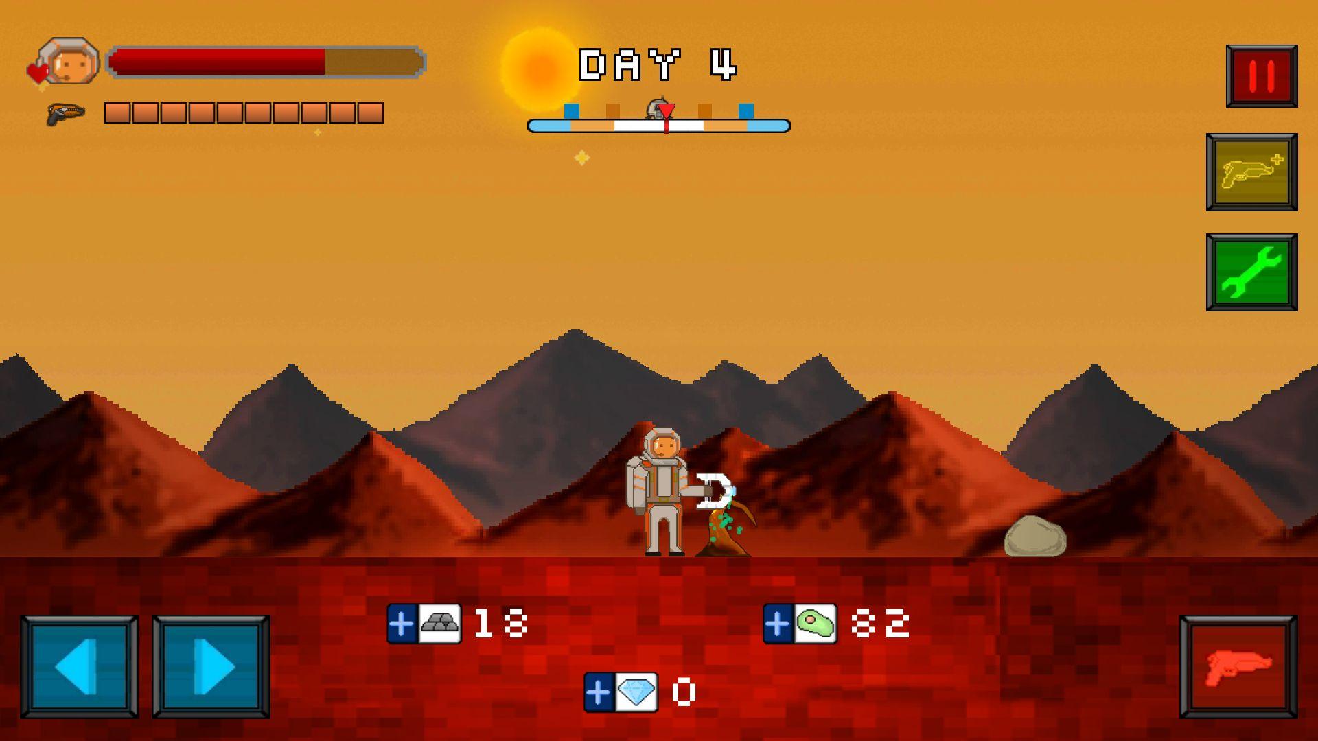 androidアプリ 火星脱出サバイバル攻略スクリーンショット2