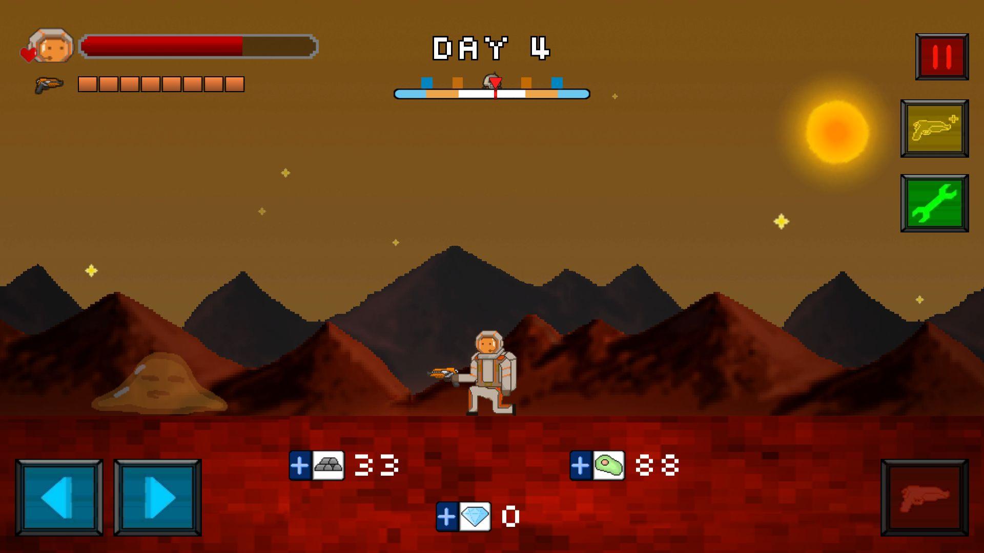 androidアプリ 火星脱出サバイバル攻略スクリーンショット3
