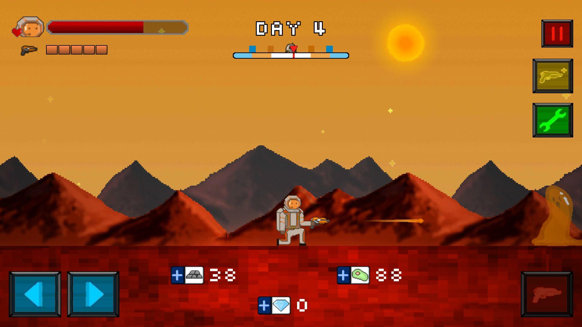 火星脱出サバイバル androidアプリスクリーンショット1