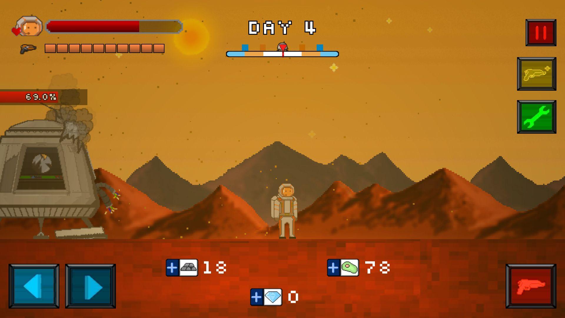 火星脱出サバイバル androidアプリスクリーンショット2