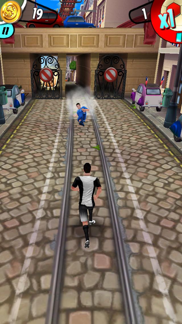 androidアプリ Cristiano Ronaldo: Kick'n'Run攻略スクリーンショット5