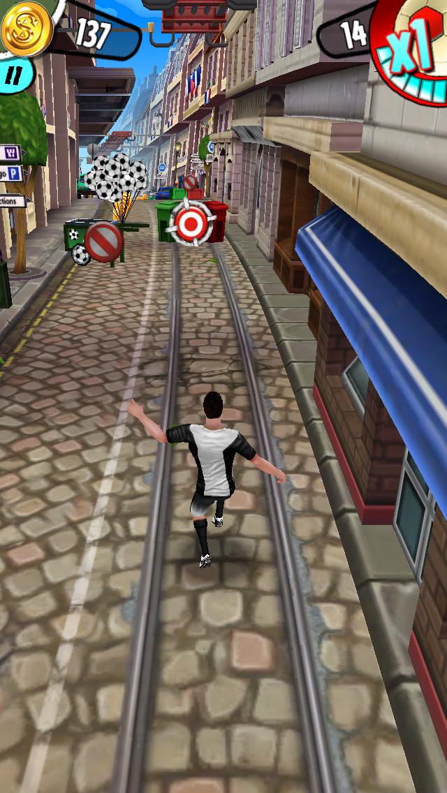 Cristiano Ronaldo: Kick'n'Run androidアプリスクリーンショット2