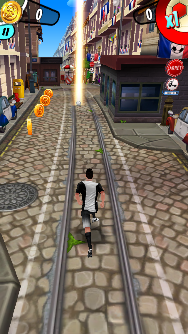 Cristiano Ronaldo: Kick'n'Run androidアプリスクリーンショット3