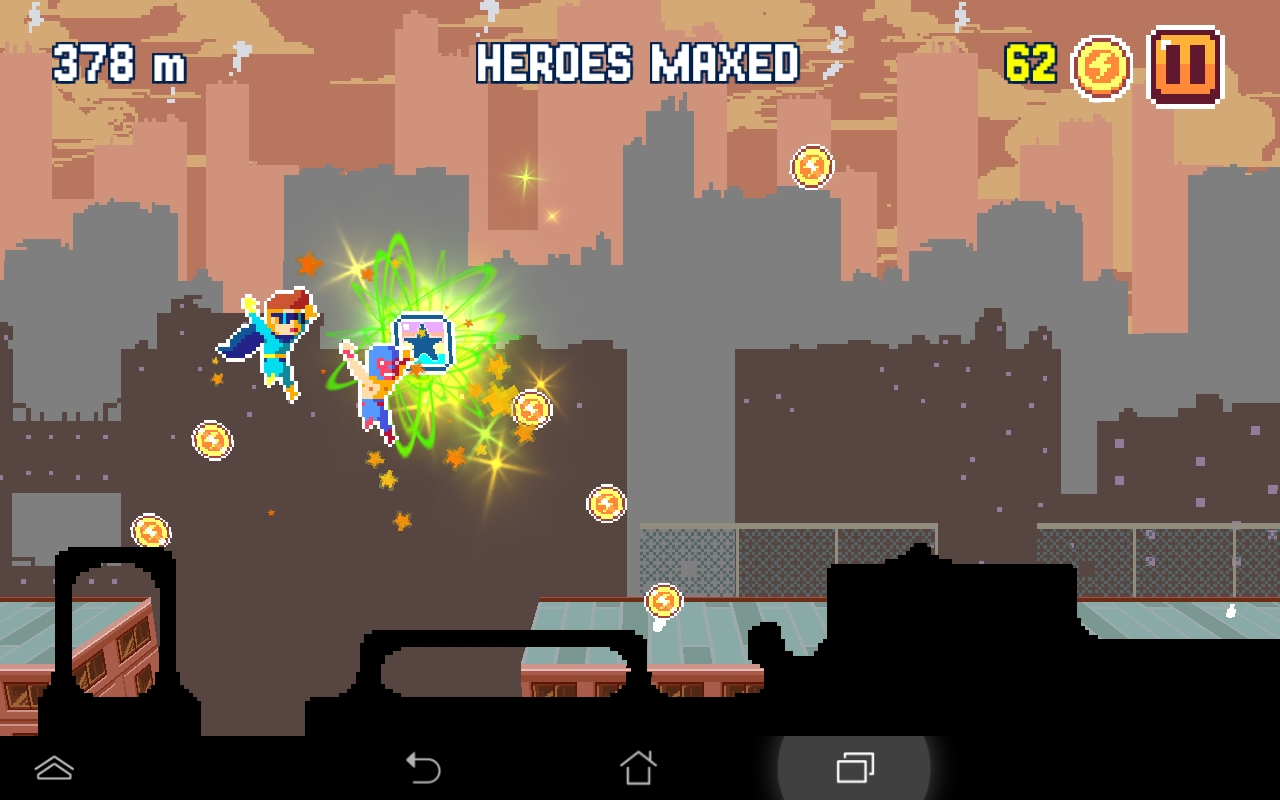 androidアプリ Pixel Super Heroes攻略スクリーンショット3