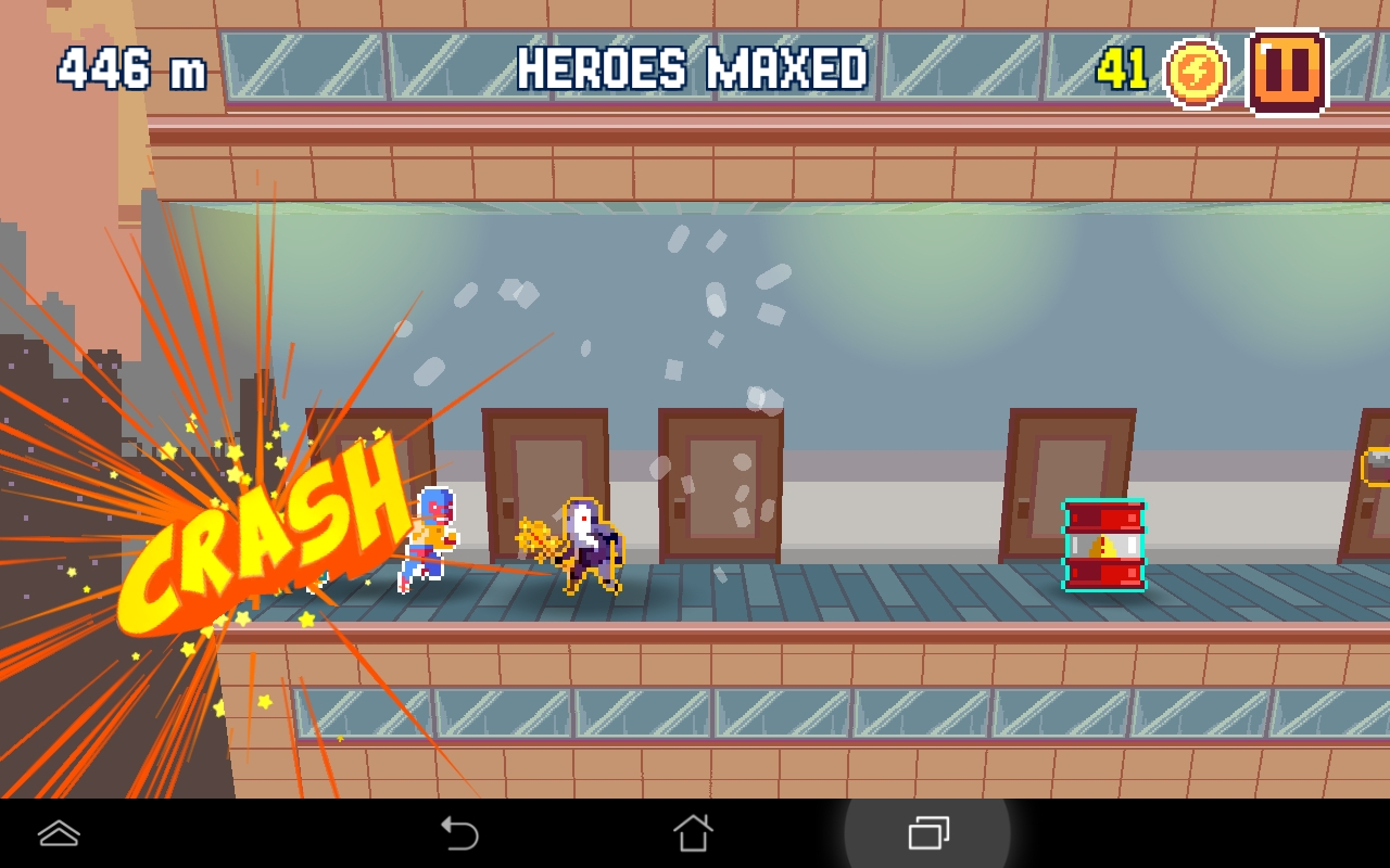 Pixel Super Heroes androidアプリスクリーンショット1