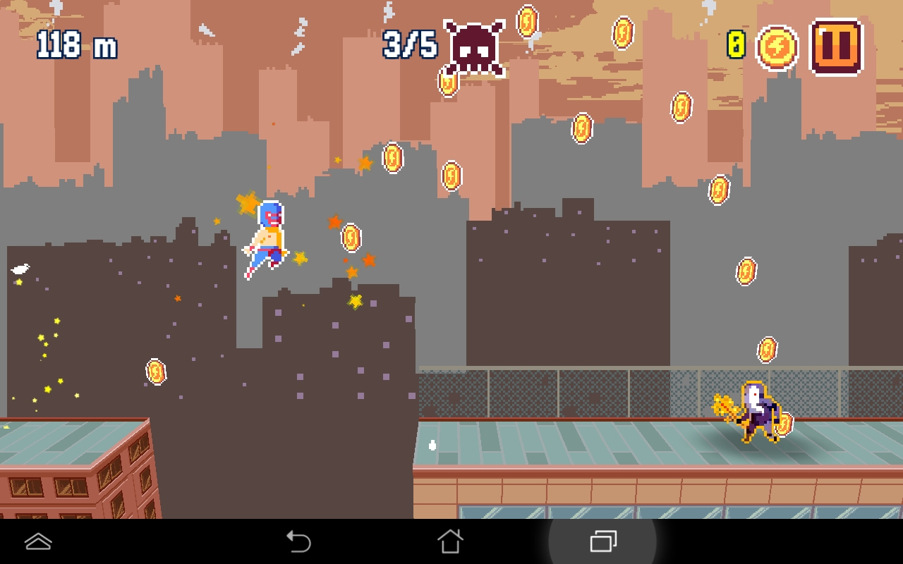 Pixel Super Heroes androidアプリスクリーンショット3
