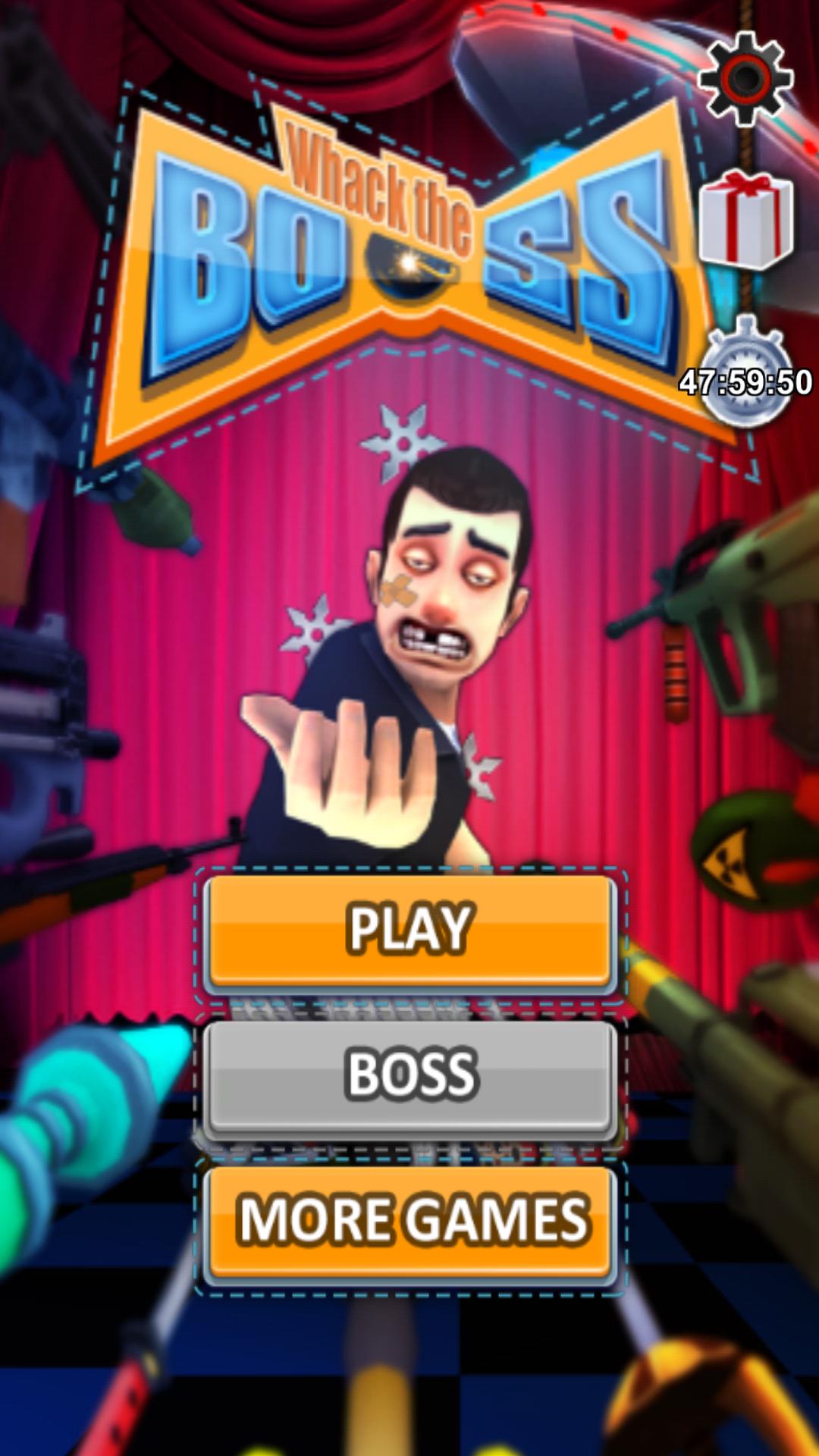 androidアプリ Whack the Boss(上司いじめ)攻略スクリーンショット1