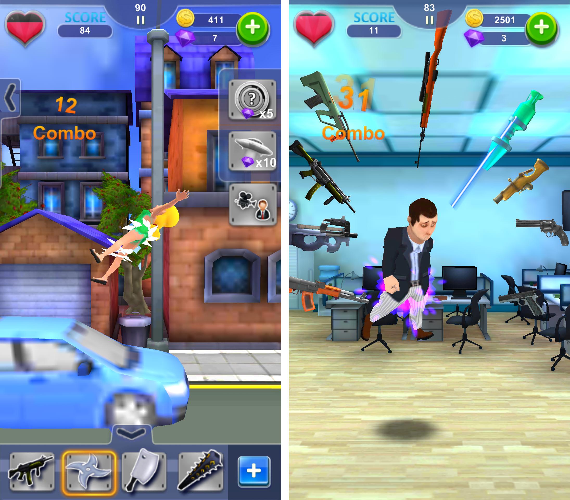 Whack the Boss(上司いじめ) androidアプリスクリーンショット1