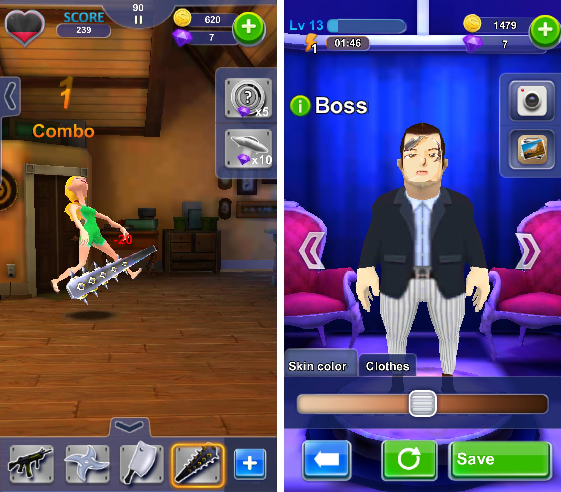 Whack the Boss(上司いじめ) androidアプリスクリーンショット3