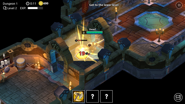 androidアプリ Dungeon Legends攻略スクリーンショット4