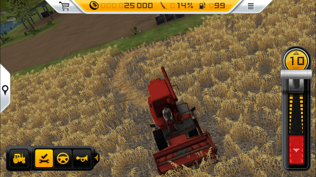 Farming Simulator 14 androidアプリスクリーンショット1