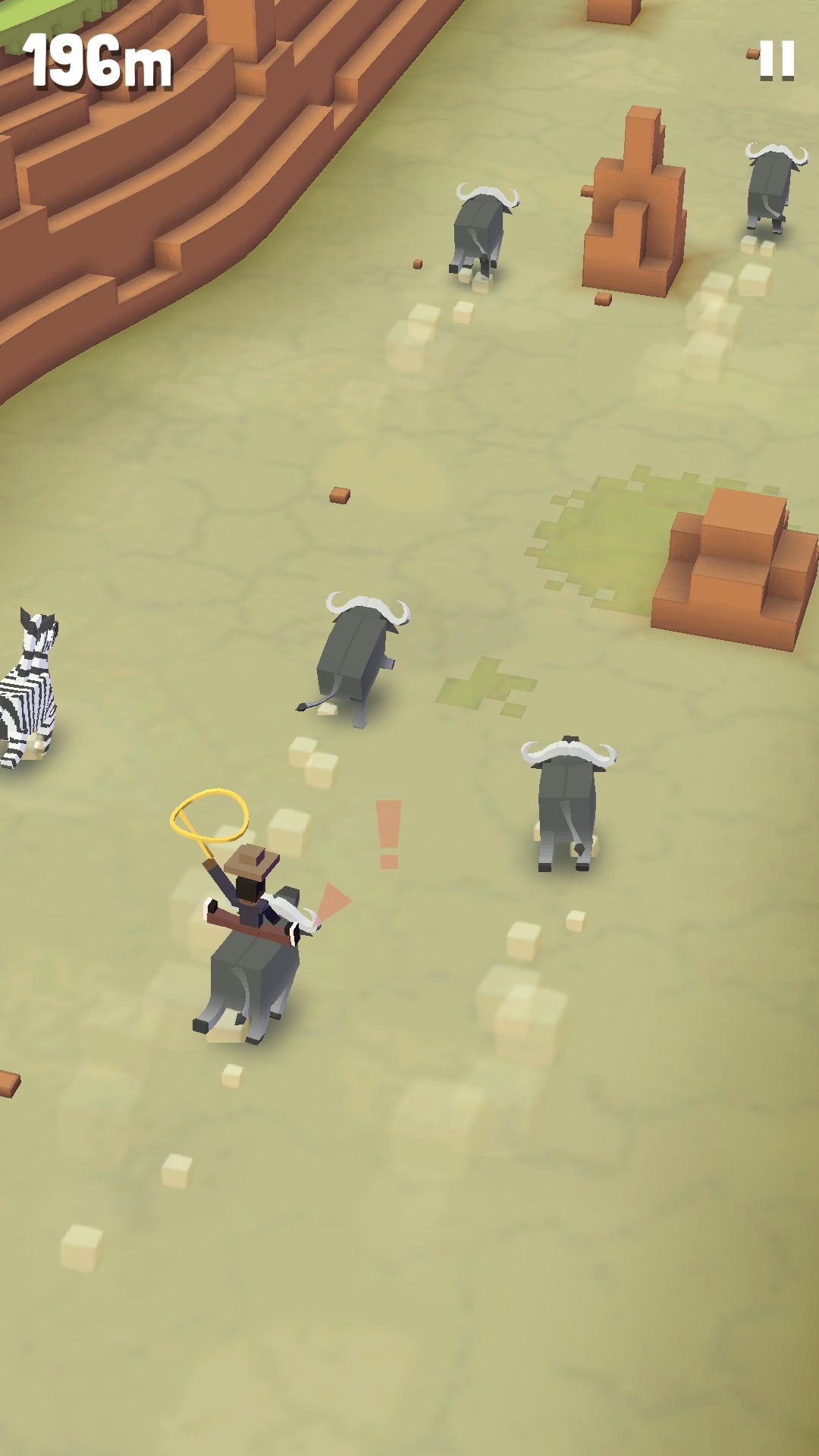 androidアプリ ロデオスタンピード(Rodeo Stampede: Sky Zoo Safari)攻略スクリーンショット3