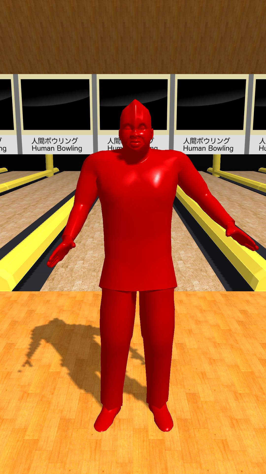 androidアプリ 人間ボウリング攻略スクリーンショット7