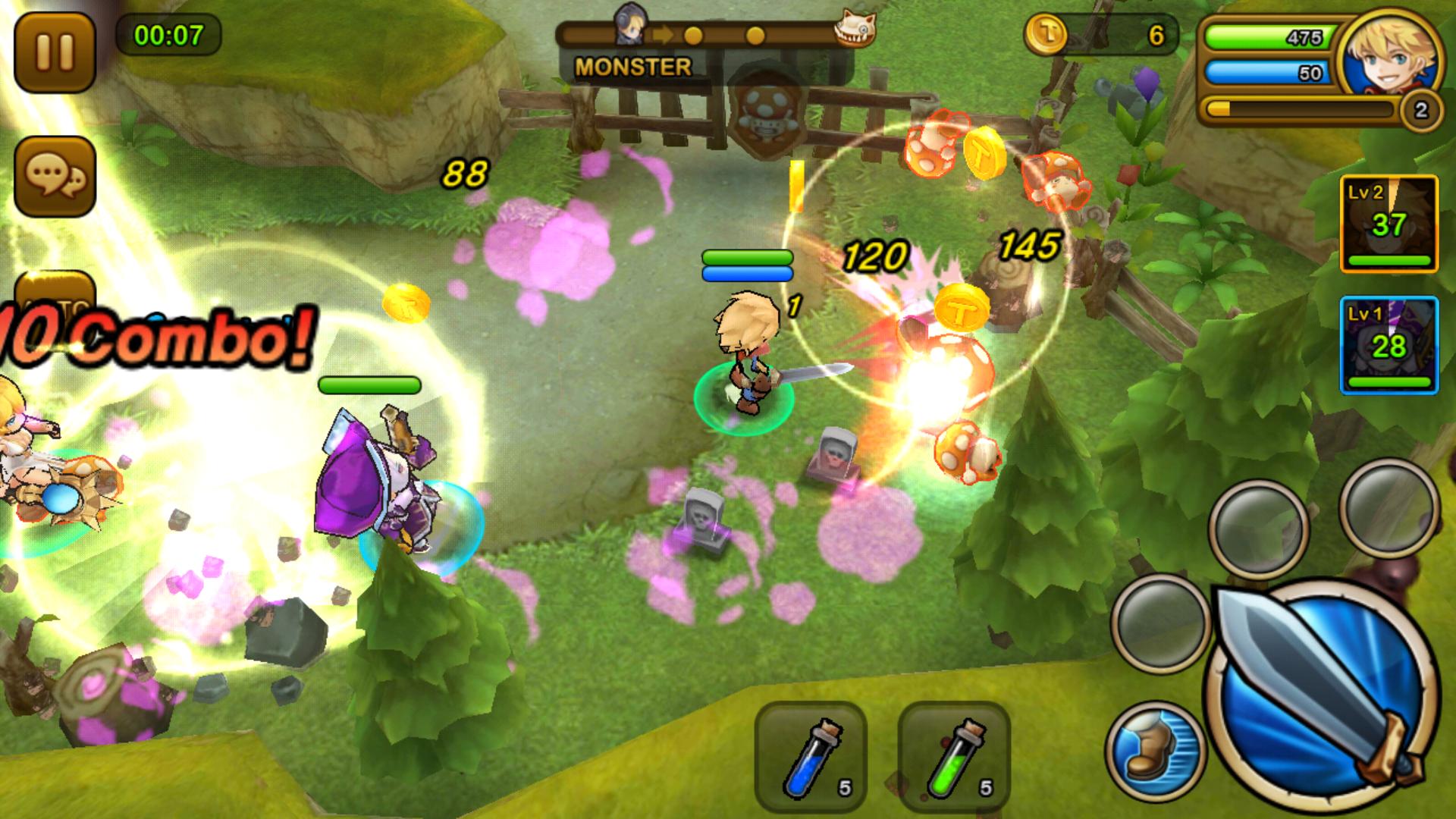 ガーディアンハンター(Guardian Hunter) androidアプリスクリーンショット1
