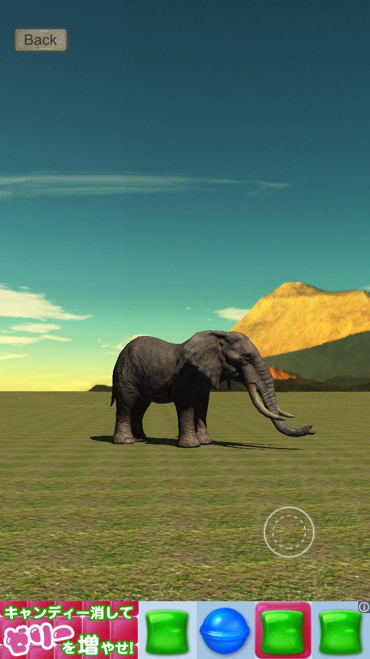 リアルなぞう育成ゲーム3D androidアプリスクリーンショット3