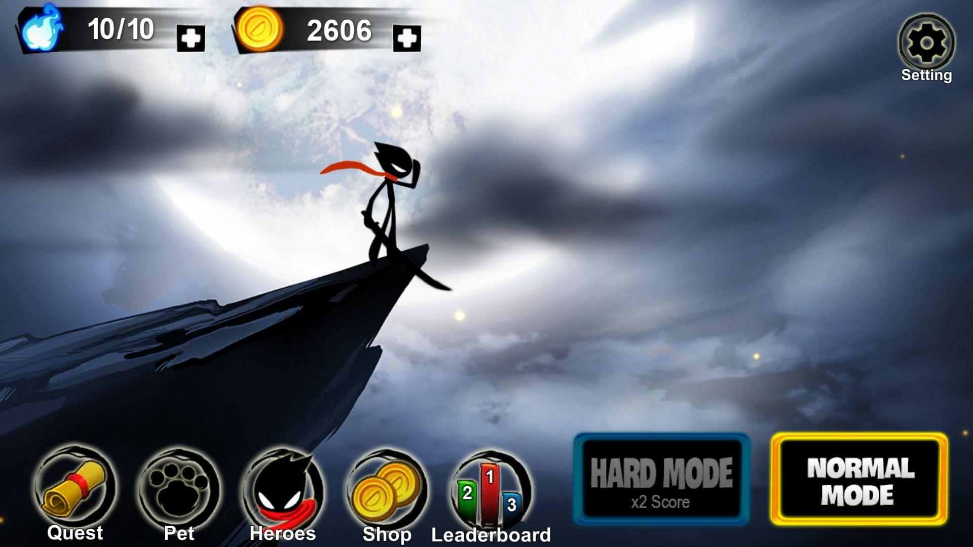 androidアプリ Stickman Revenge 3攻略スクリーンショット1