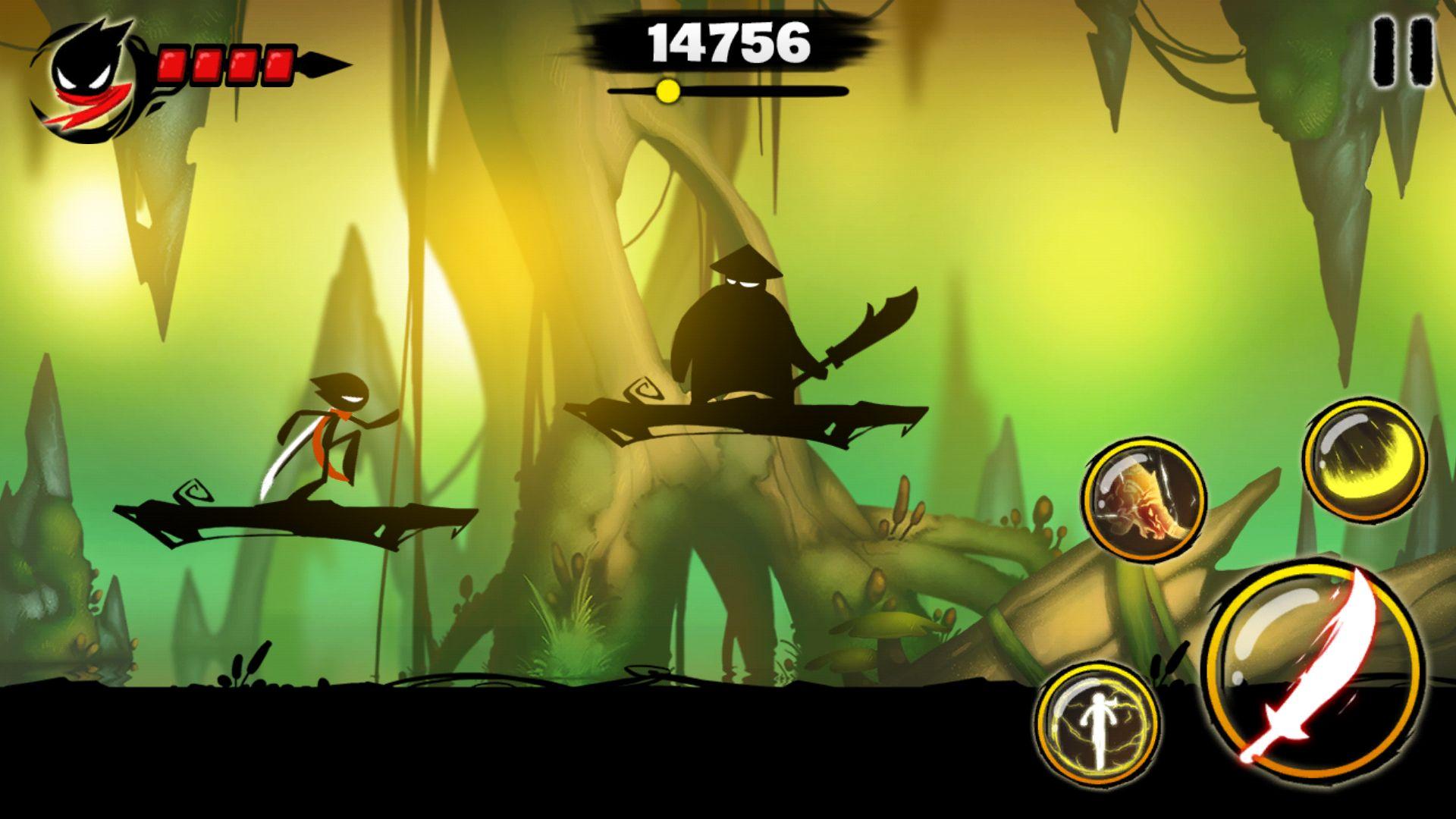 androidアプリ Stickman Revenge 3攻略スクリーンショット2