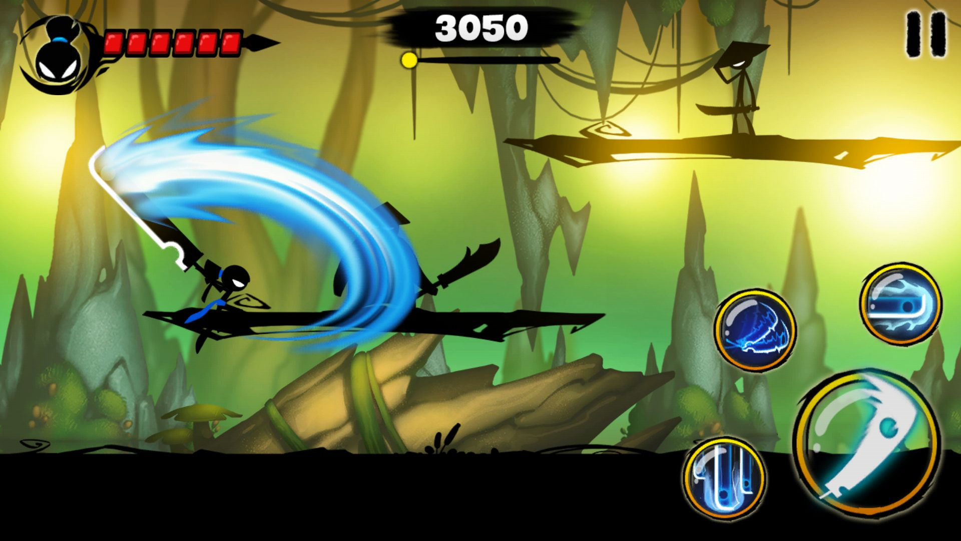 Stickman Revenge 3 androidアプリスクリーンショット1