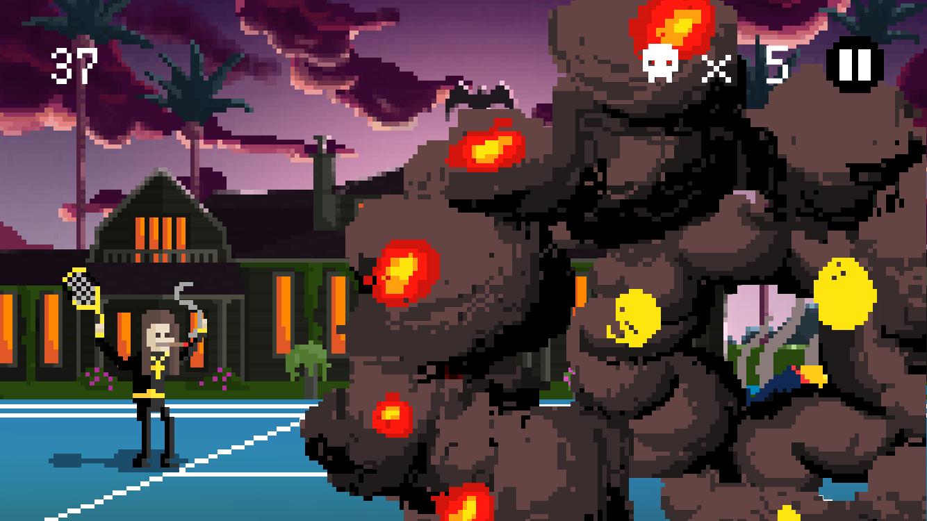 androidアプリ Heavy Metal Tennis Training(HMTT)攻略スクリーンショット6