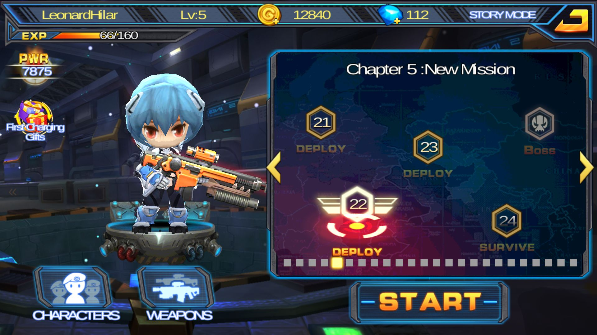 androidアプリ Guns X Zombies攻略スクリーンショット1