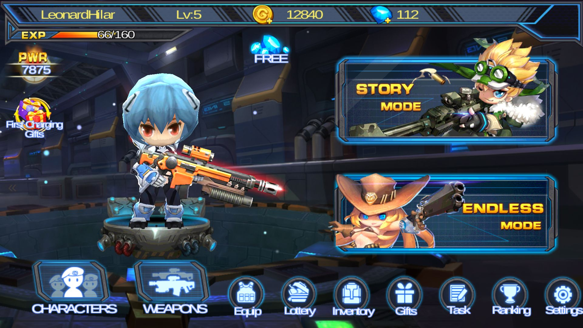 Guns X Zombies androidアプリスクリーンショット3