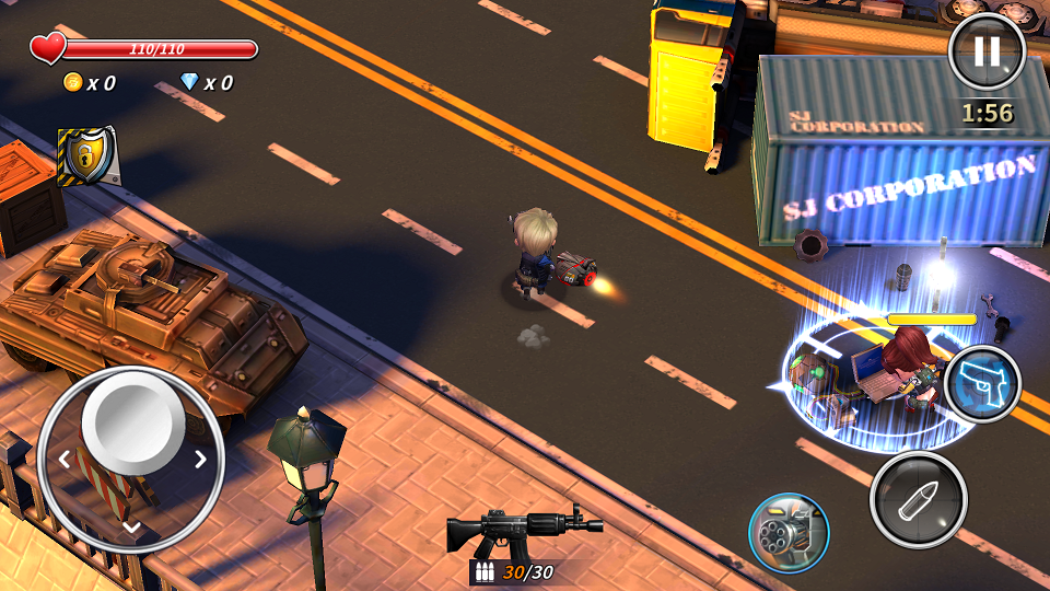 androidアプリ Point Blank Counter Attack攻略スクリーンショット4
