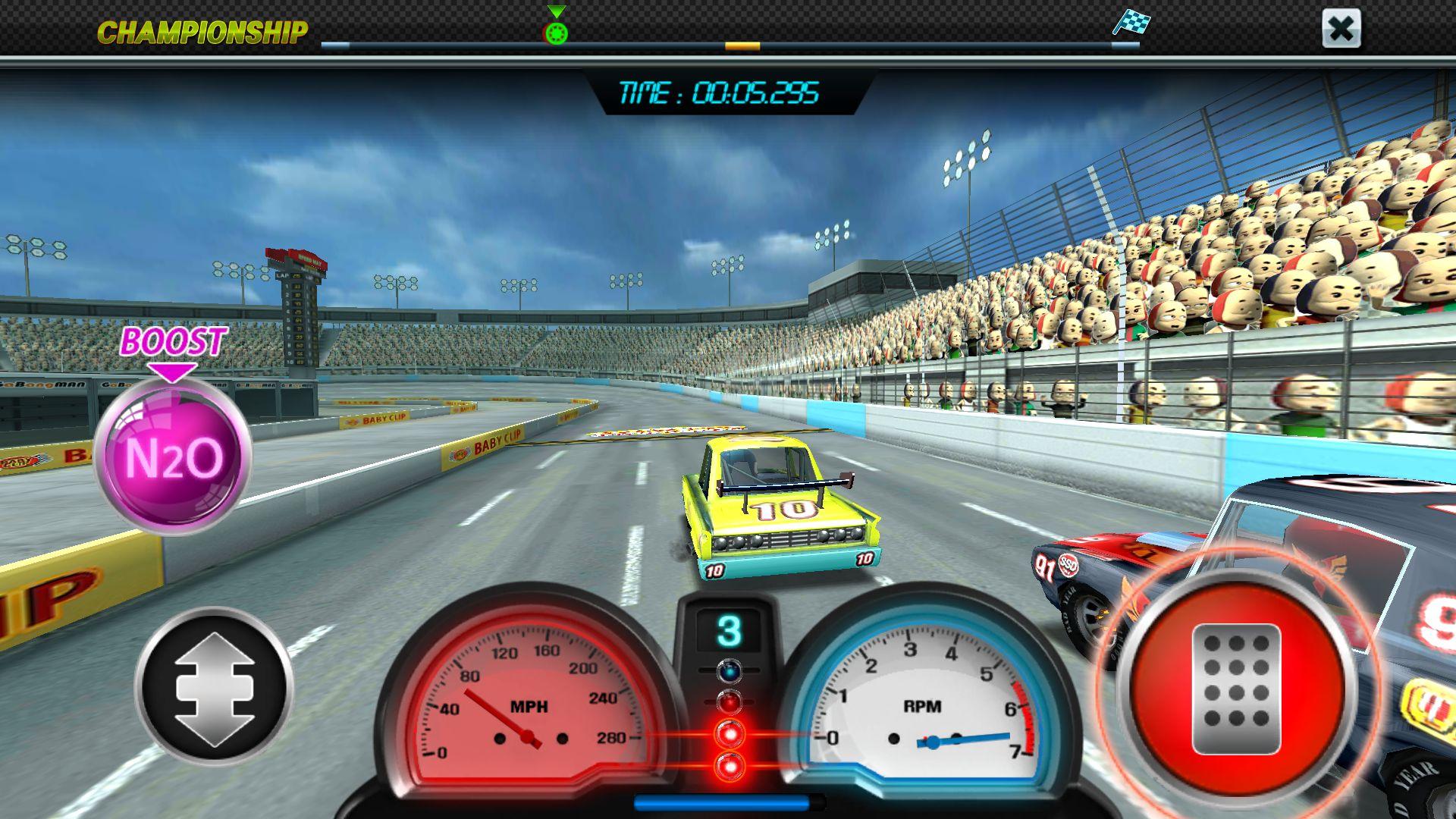 ピットストップレーシング:クラブvsクラブ androidアプリスクリーンショット1