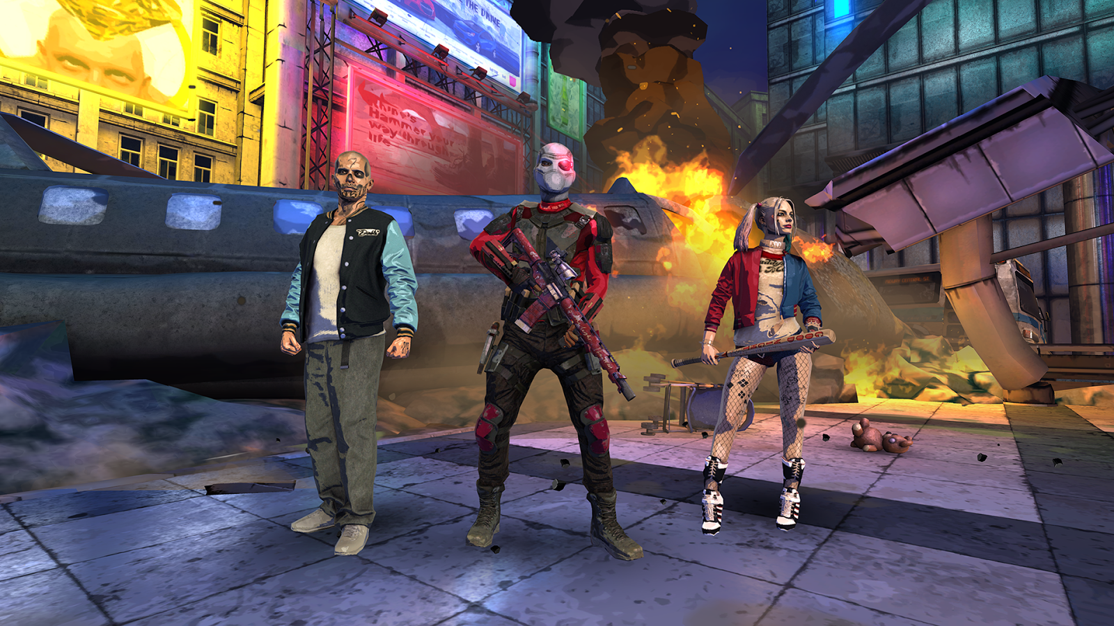 Suicide Squad: Special Ops(スーサイド・スクワッド) androidアプリスクリーンショット2
