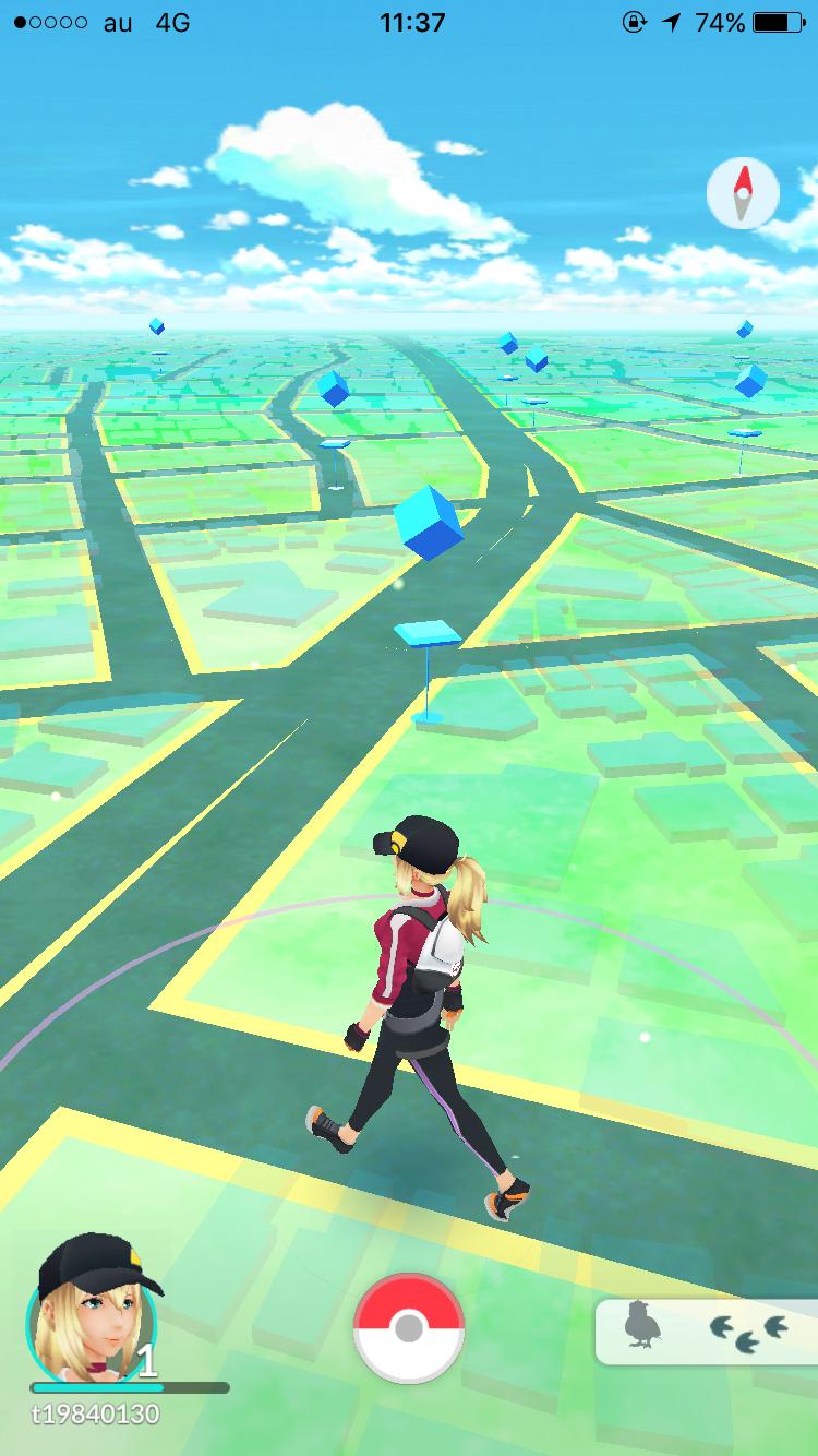 androidアプリ Pokémon GO(ポケモンGO)攻略スクリーンショット5