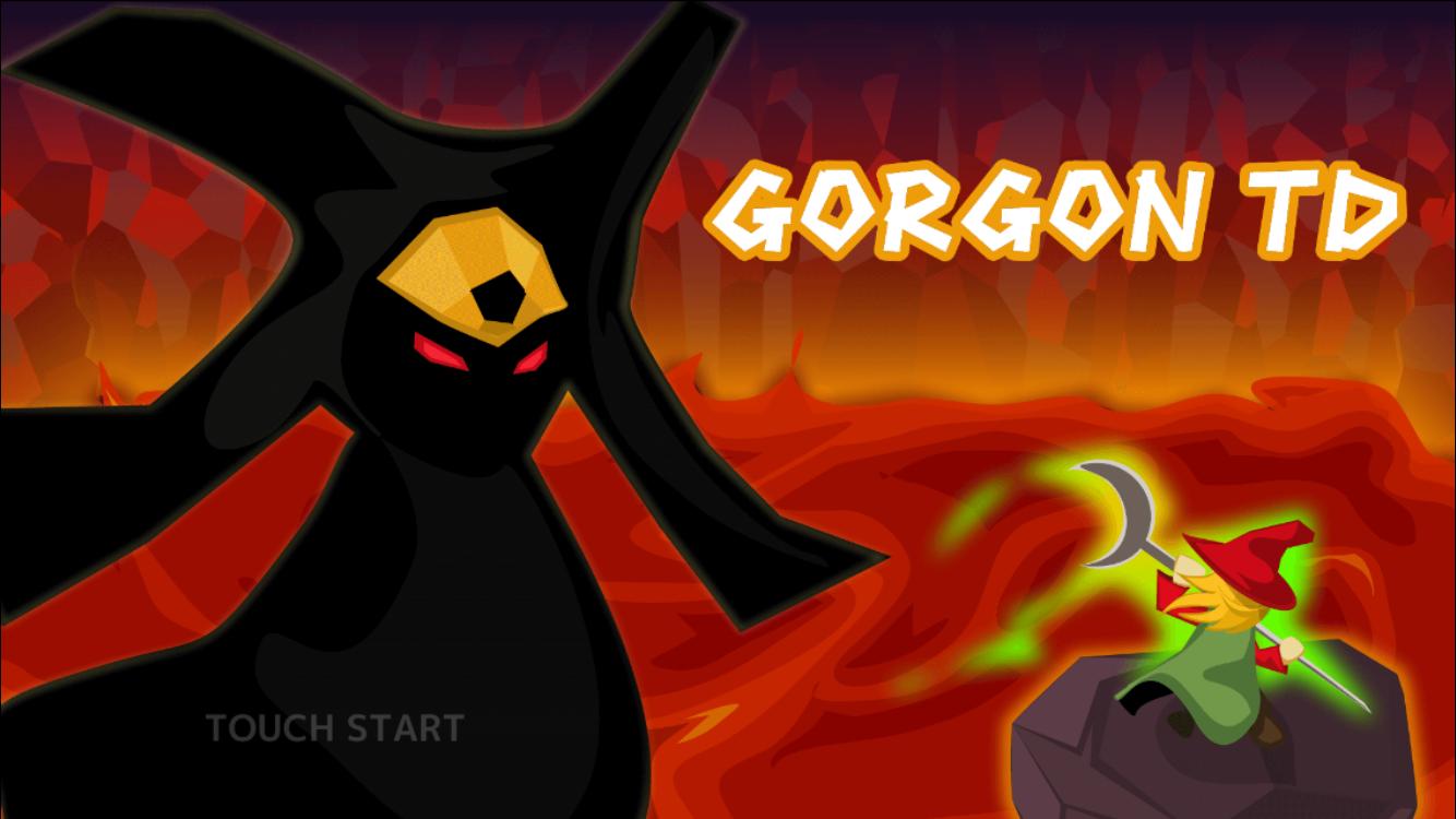 androidアプリ ゴルゴンTD攻略スクリーンショット1