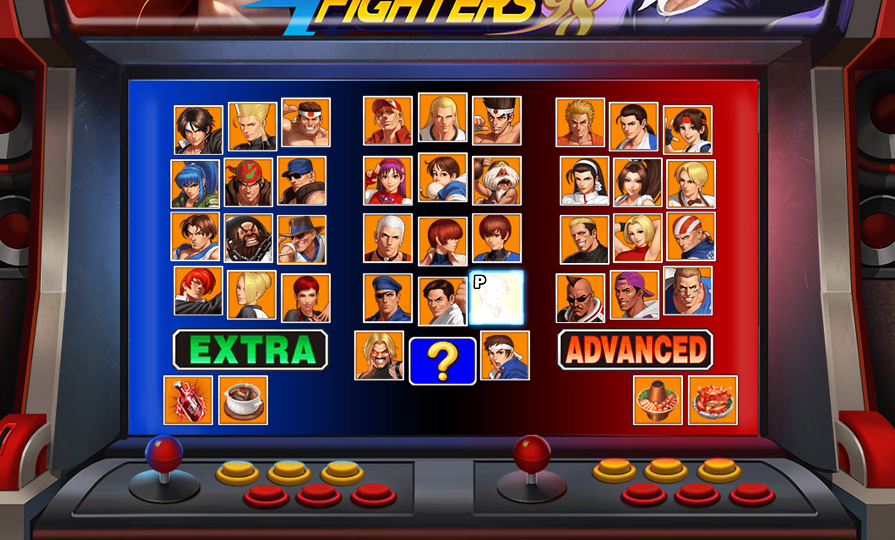 androidアプリ THE KING OF FIGHTERS '98UM OL(βテスト版)攻略スクリーンショット5
