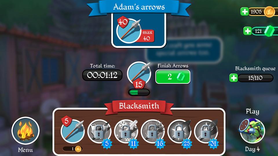 androidアプリ Tiny Archers攻略スクリーンショット6