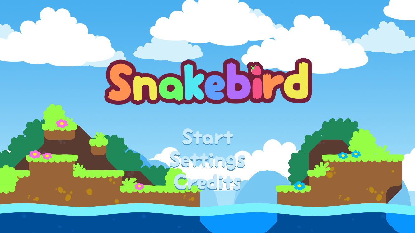androidアプリ Snakebird攻略スクリーンショット1