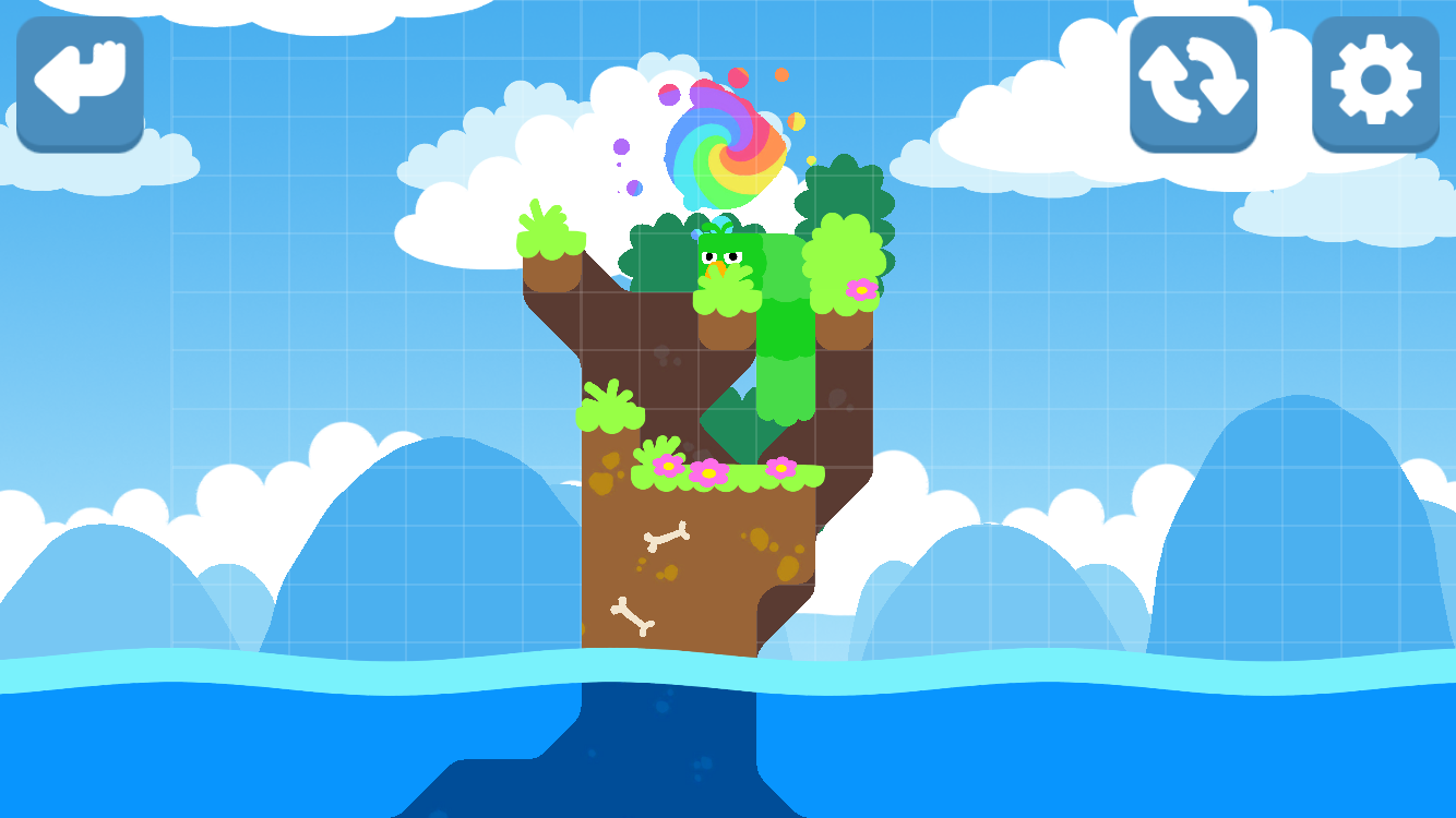 Snakebird androidアプリスクリーンショット1