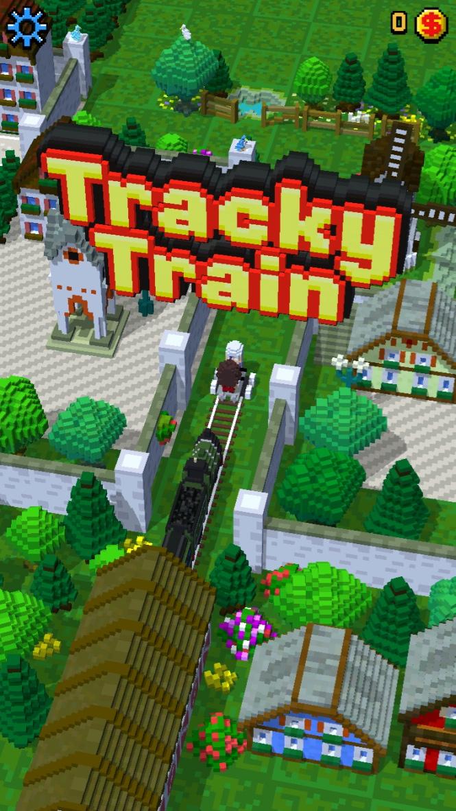 androidアプリ Tracky Train攻略スクリーンショット1