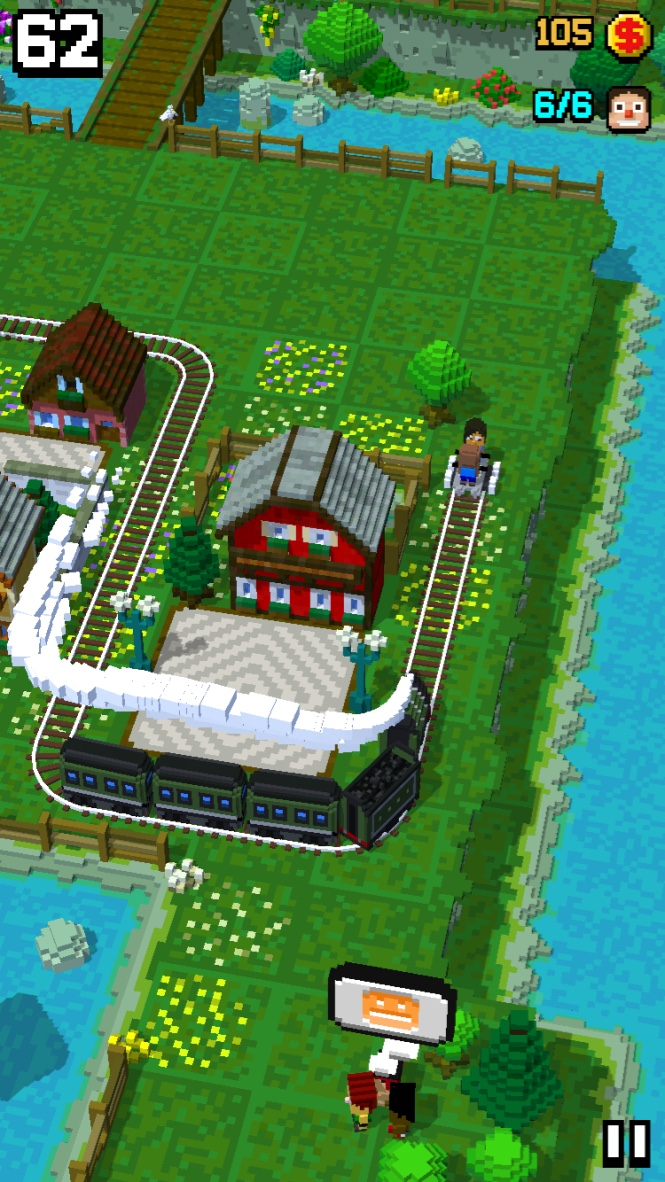 Tracky Train androidアプリスクリーンショット1