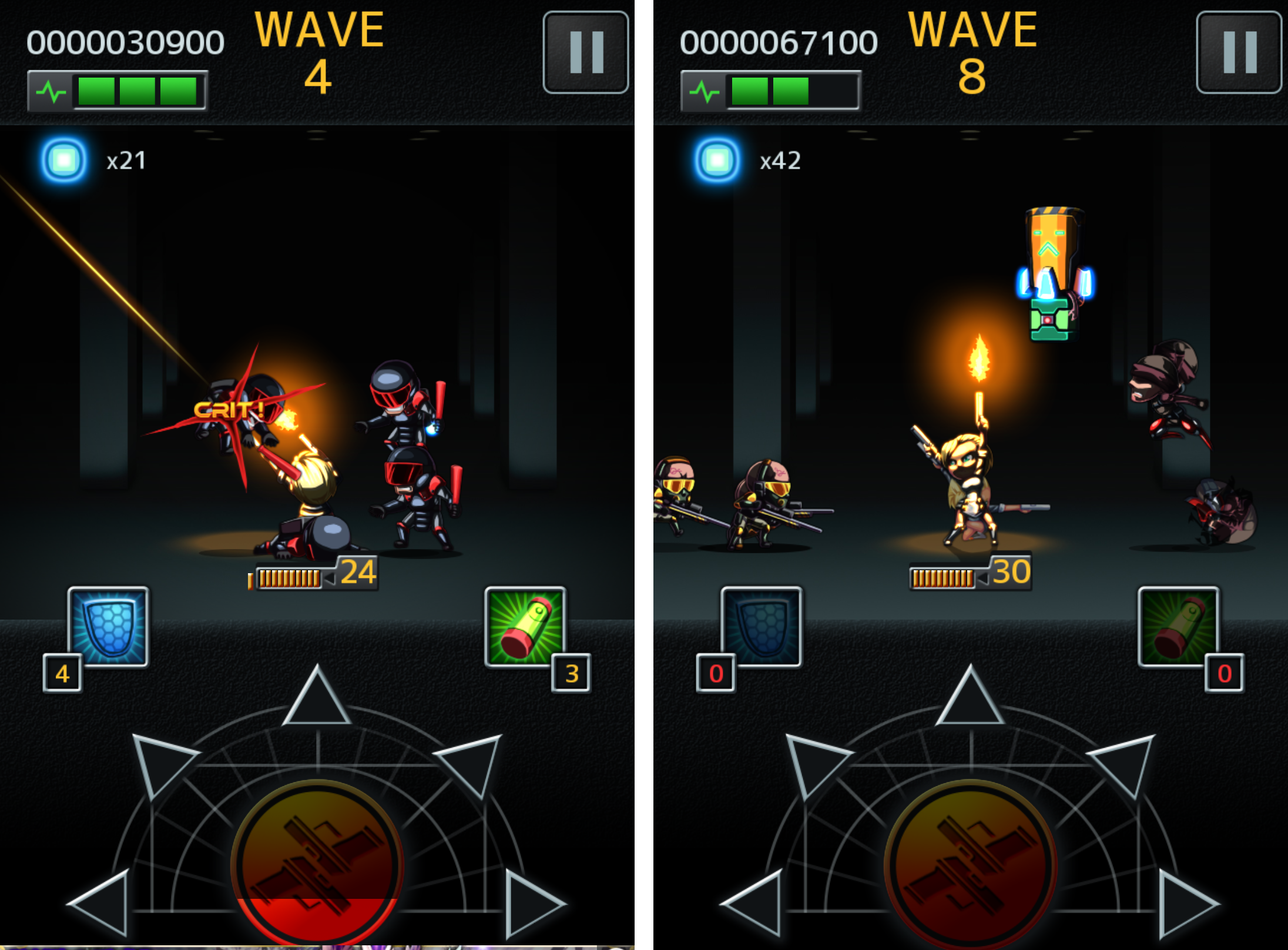 Bullet Rain androidアプリスクリーンショット1